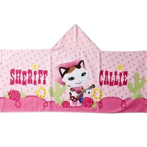 Disney Junior Other - 🐱 NEW Sheriff Callie Wild West Hooded Towel